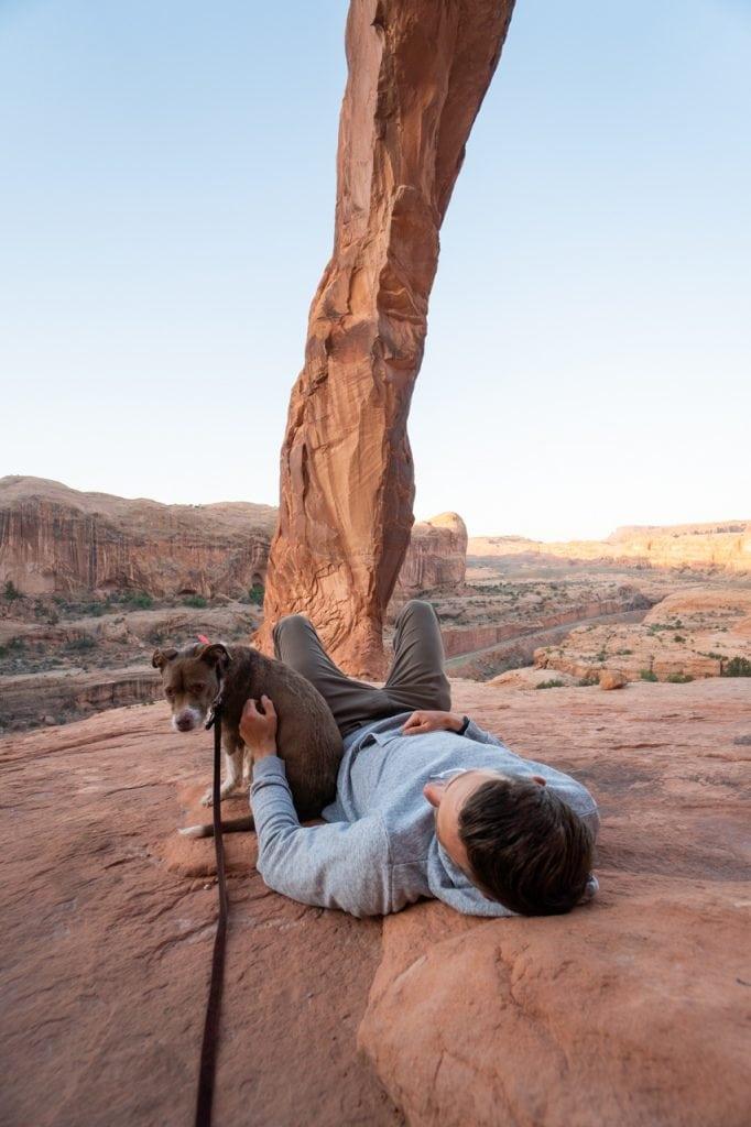 Dog Friendly hikes | Corona Arch Moab