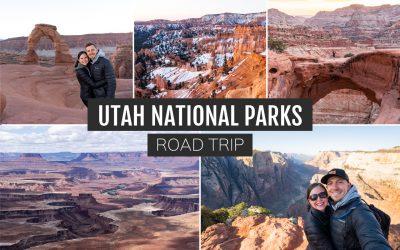 10 Day Utah National Parks Road Trip Itinerary