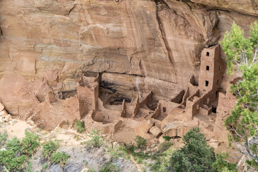Square Tower House Cliff Dwelling Tour at Mesa Verde National Park
