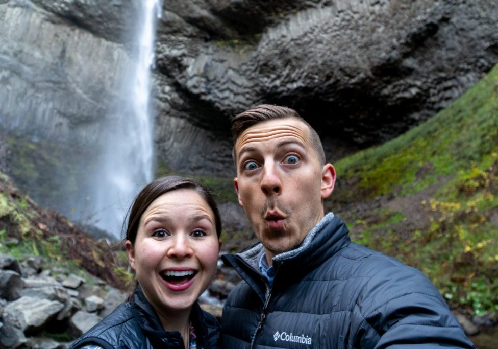 Portland and Columbia River Gorge Vlog | Things to do Portland | Things to do Columbia River Gorge | Portland Hiking | Columbia River Gorge Hiking | Multnomah Falls | Latourell Falls | Portland Coffee