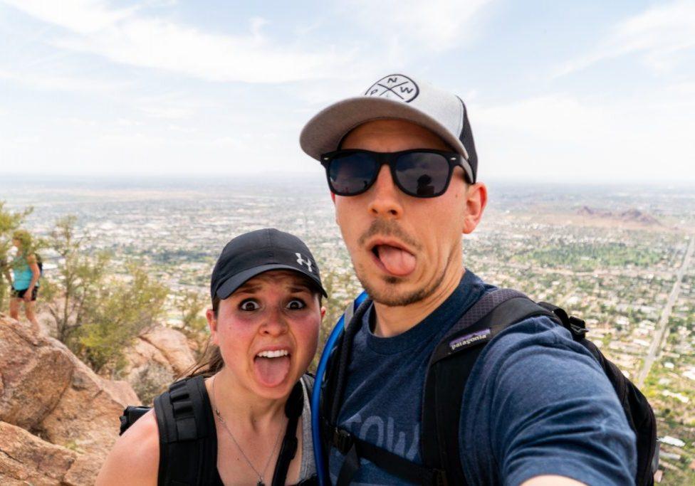 Hiking Camelback Mountain in Scottsdale Arizona