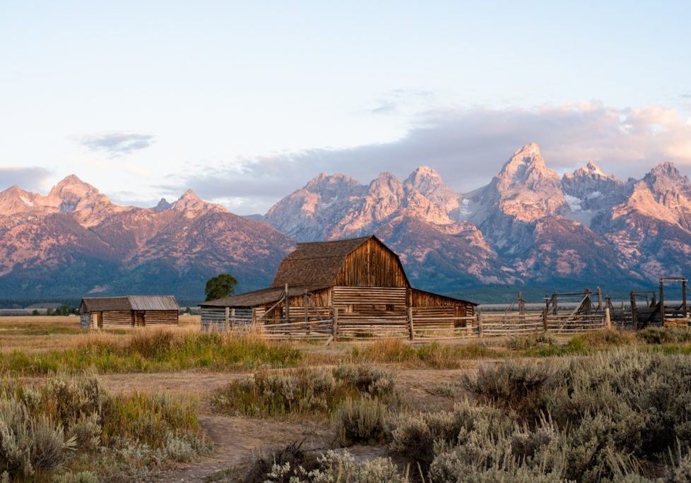 Exploring Jackson Hole + Mormon Row
