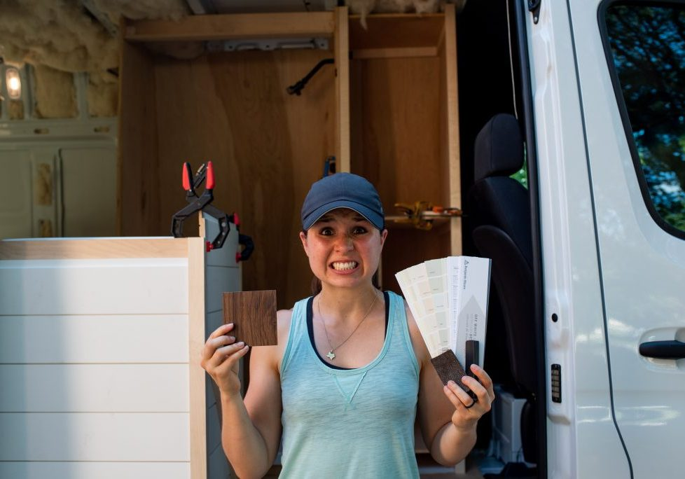 Van Conversion finishes and walls