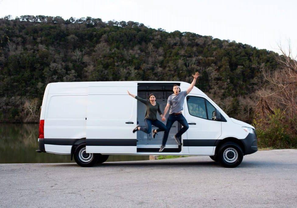 Van Life Mercedes Sprinter