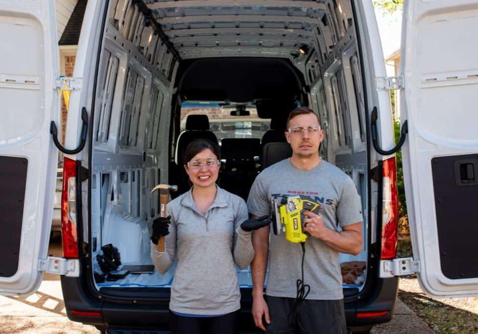 Van Life Mercedes Sprinter   Van Conversion   Van Layout   Sprinter Conversion   Sprinter Layout   Van Build