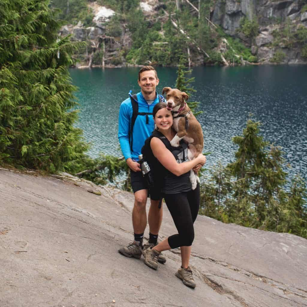 Adam, Kathryn, and Kona   Adventures of A+K