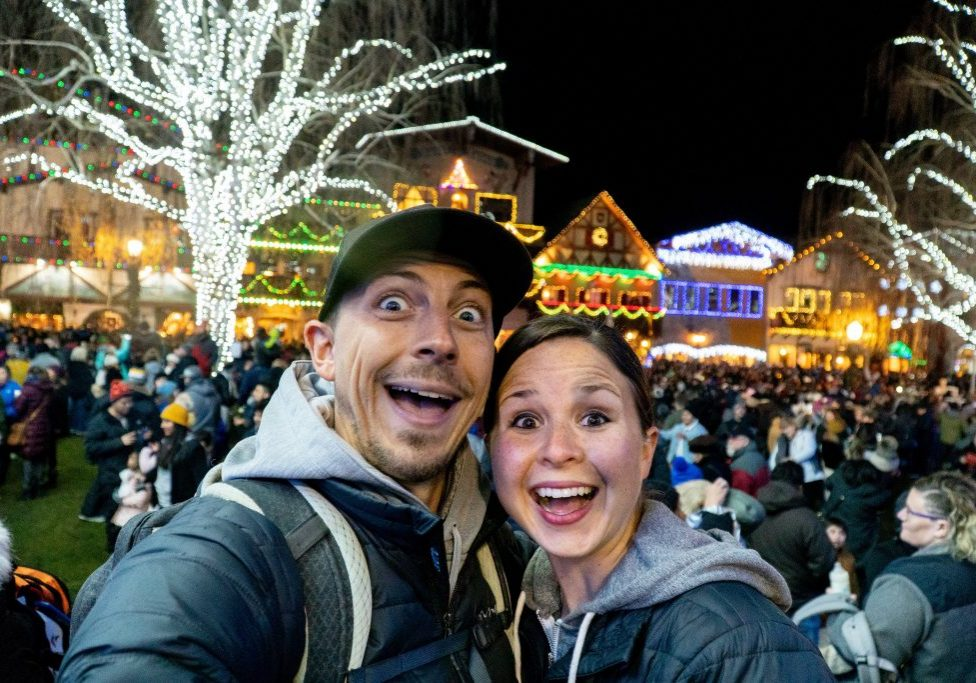 Leavenworth Christmas Lighting Festival | Lake Serene Hike | Christmas Lights | Leavenworth Christmas | Leavenworth Washington | Best Christmas Lights | Things to do Christmas | Best Christmas towns | Best Hikes Washington | Where to Hike Washington | Best Small Towns United States